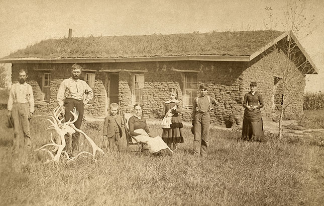 The 1862 Homestead Act represented the greatest privatization of government-owned property in American history. (GRANGER)