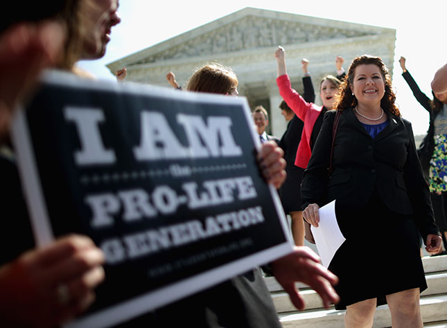 In 2014, the Supreme Court ruled that Hobby Lobby did not have to pay for insurance coverage for contraception under the Affordable Care Act, striking a blow for religious freedom. (CHIP SOMODEVILLA/GETTY IMAGES)