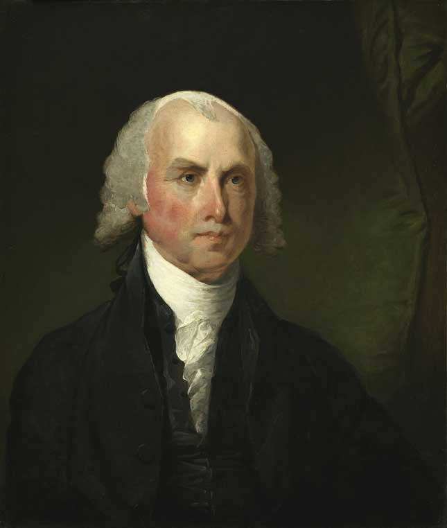 James Madison by Gilbert Stuart (1755-1828)