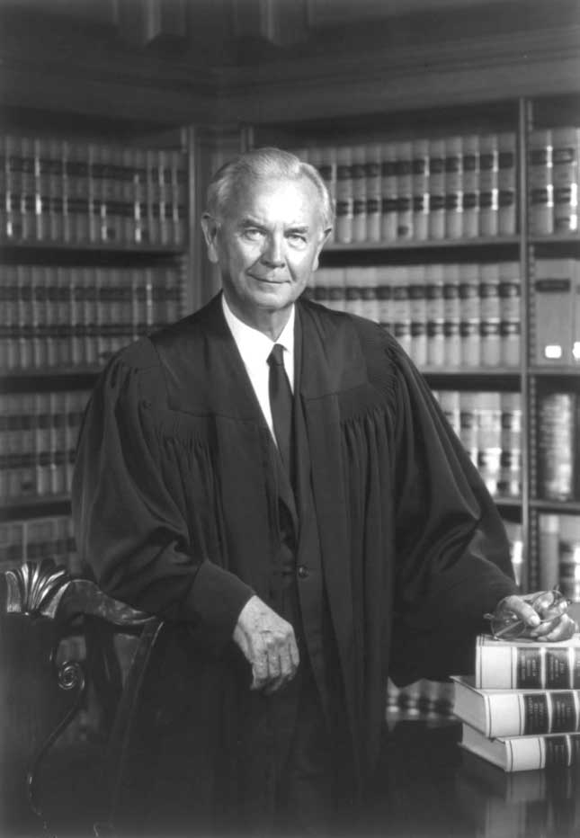 Official portrait of Justice William J. Brennan (1972)