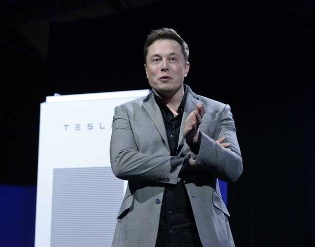 Elon Musk, founder and chairman of SolarCity (Photo by Kevork Djansezian/Getty Images)