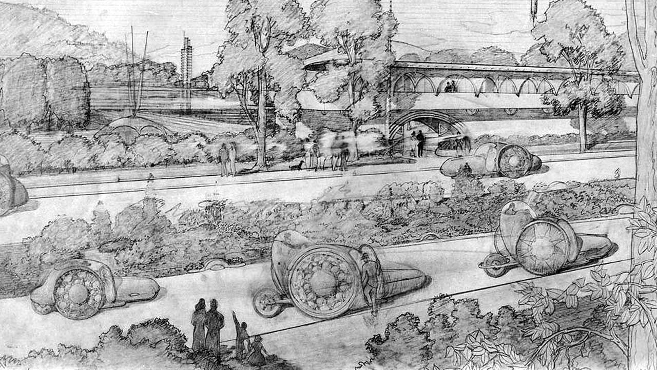 Frank Lloyd Wright's Dream Cities