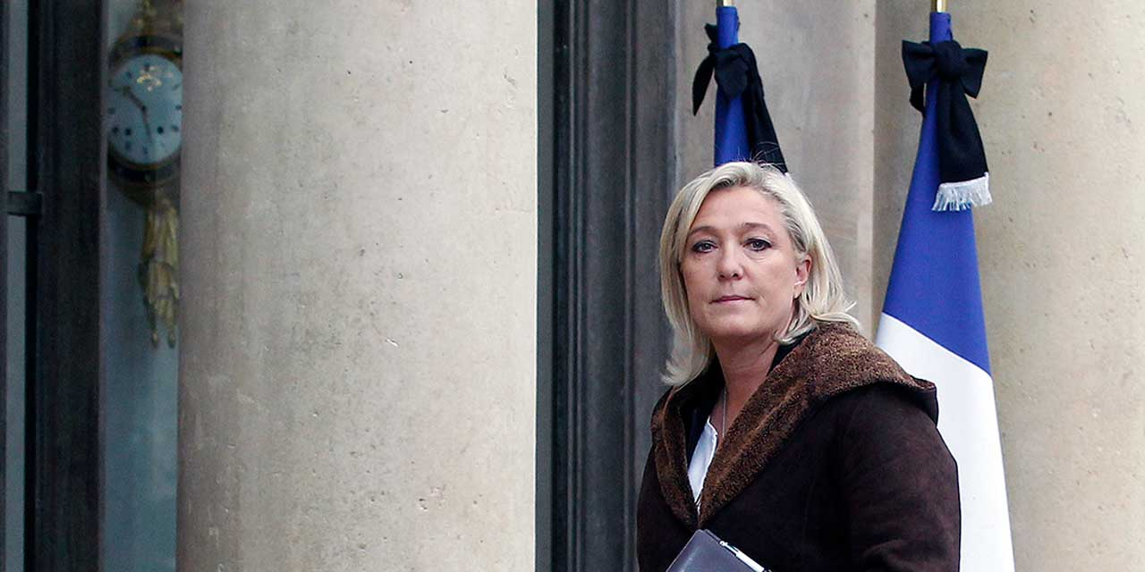 Image result for French Twist How Marine Le Pen quietly became the left-wing candidate in the French elections