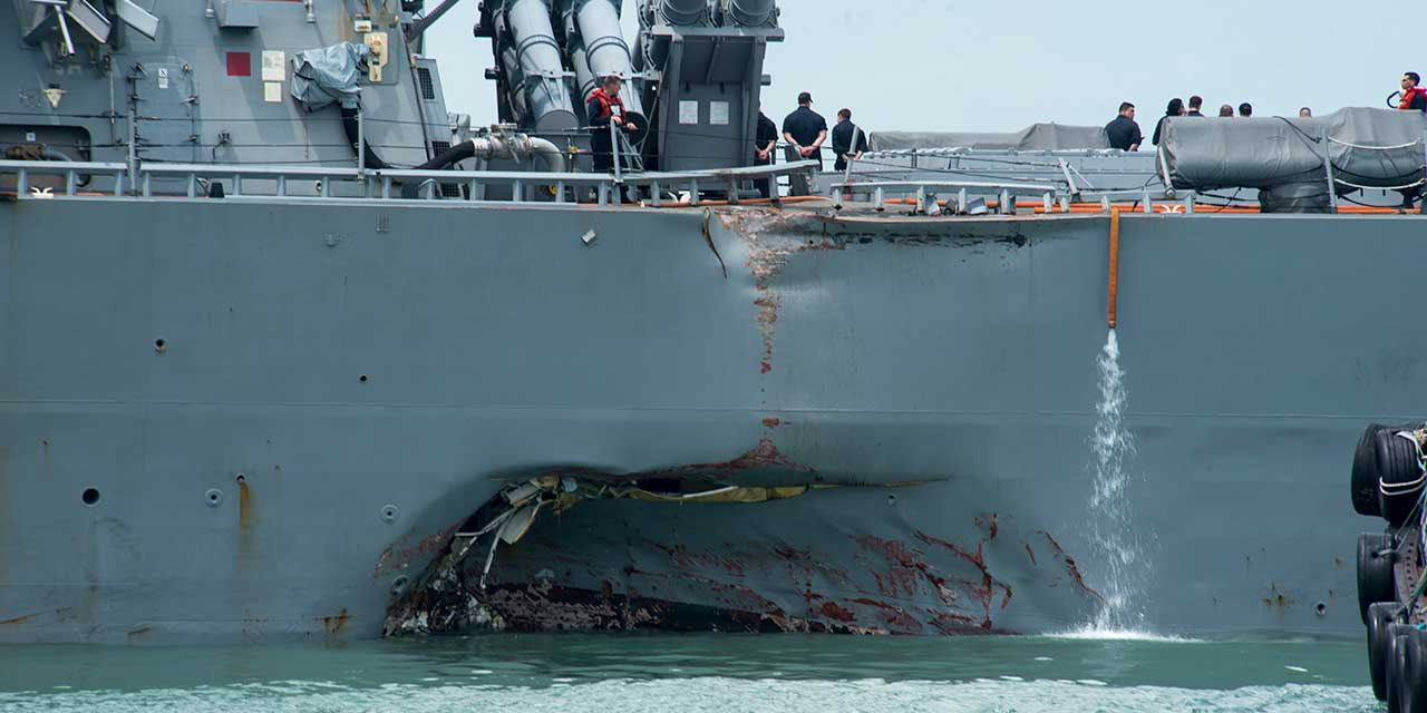 Body found by Malaysia not sailor from damaged destroyer: US Navy
