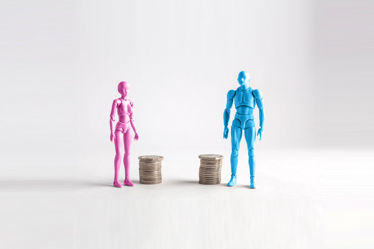 Gender pay gap in technology and media companies