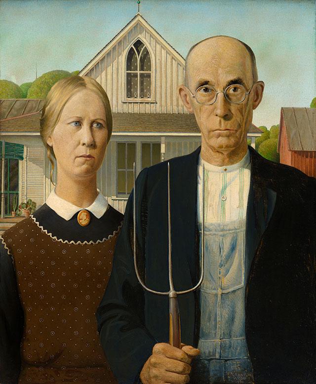 <i>American Gothic</i>, 1930