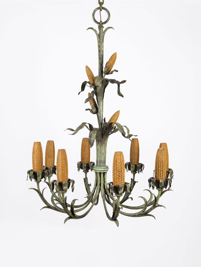 <i>Corn Cob Chandelier for Iowa Corn Room</i>, 1925