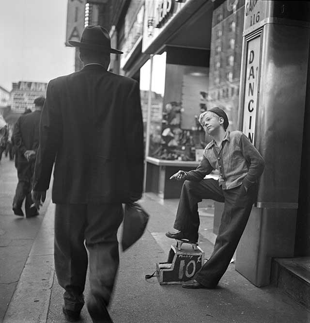 "From ""Shoeshine Boy,"" 1947"