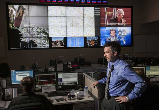 Sophisticated crime mapping allows police to direct resources to where the bad guys are. (DAMIAN DOVARGANES/AP PHOTO)