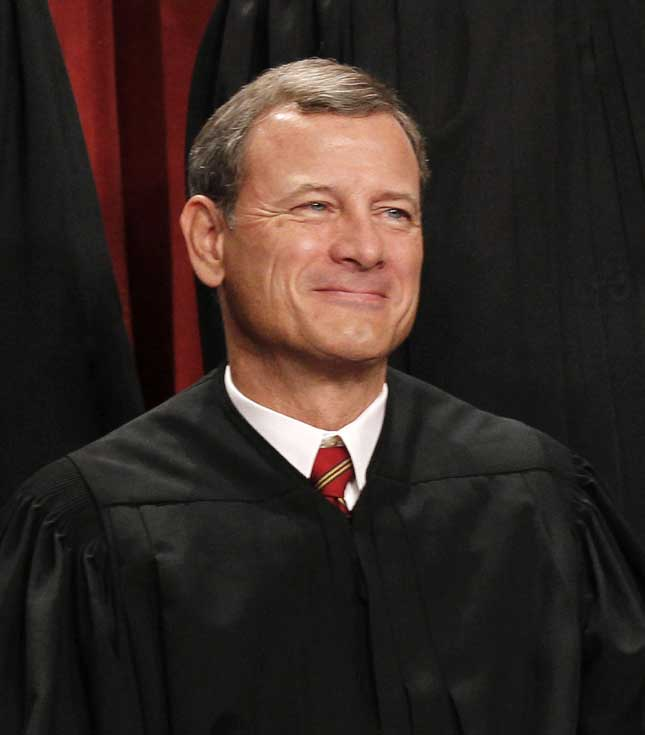 The Roberts Court has pushed back against efforts to restrict political speech. (Pablo Martinez Monsivais/Ap Photo)