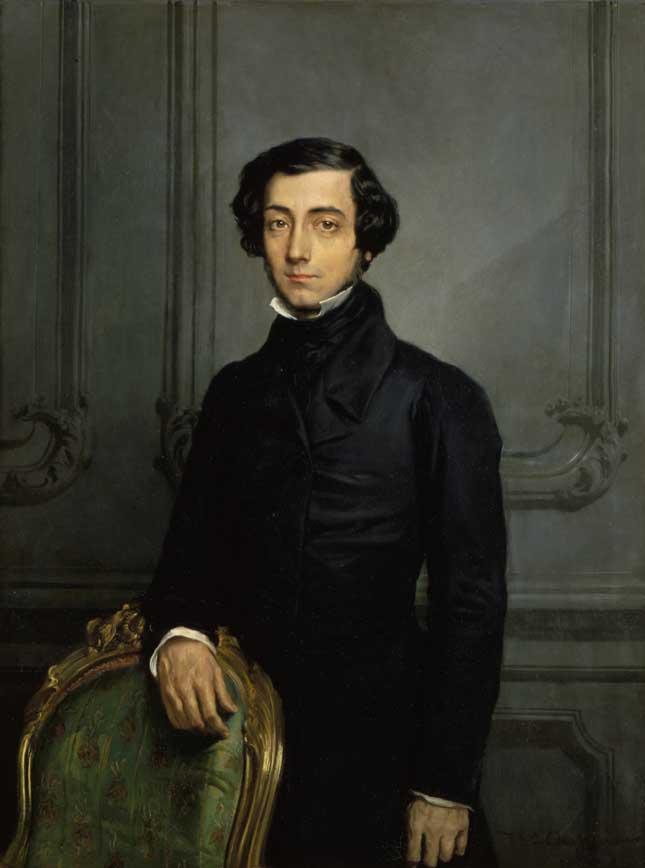 Alexis de Tocqueville in 1850 (RMN-GRAND PALAIS/ART RESOURCE, NY)