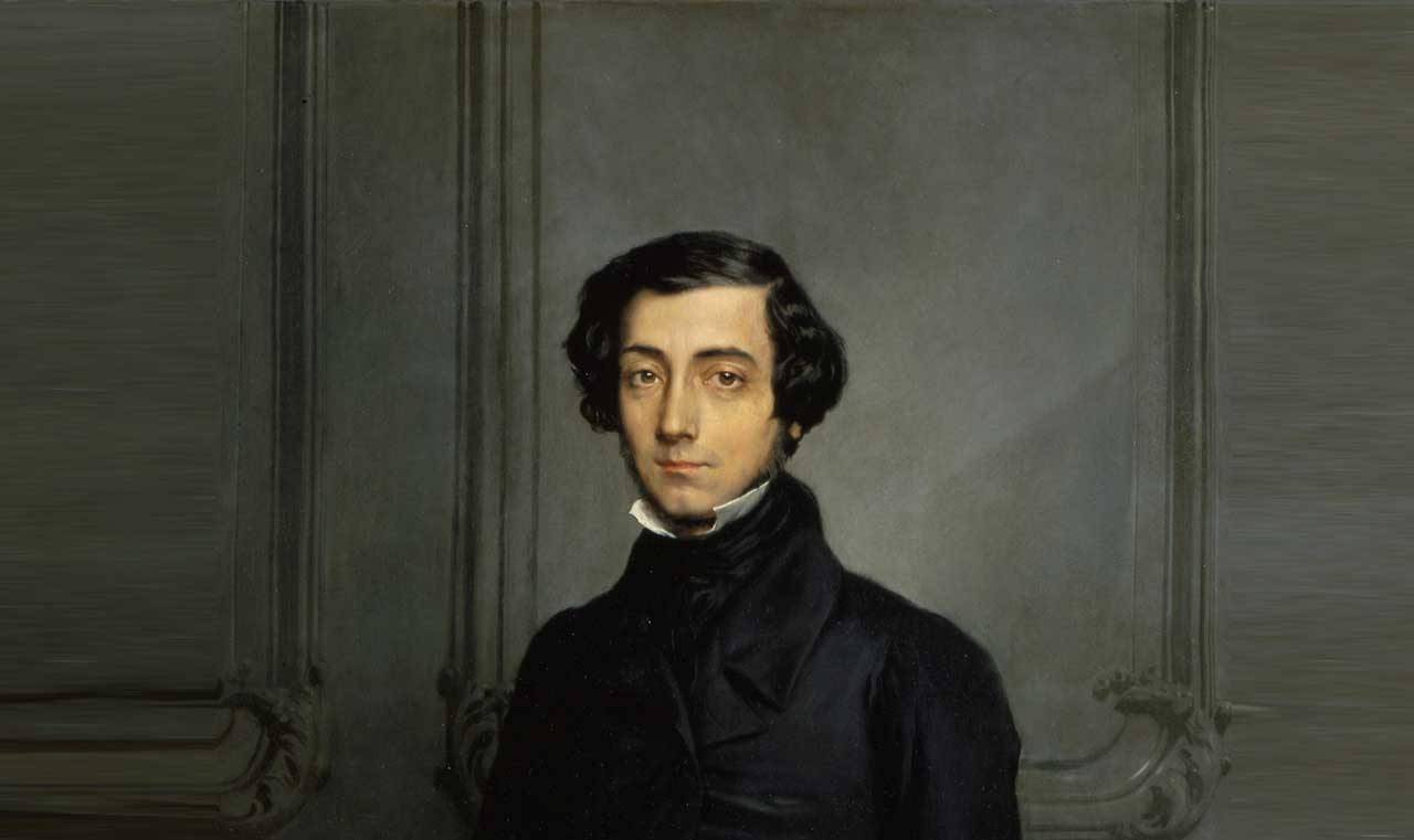 "alexis de tocqueville and james madison Alexis de tocqueville provides a clue in democracy in america: ""democratic nations often hate those in whose hands the central power is vested, but they always love that power itself."
