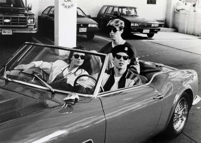 """Ferris Bueller's Day Off"" anticipates the postindustrial Windy City of gentrified neighborhoods, global businesses, and entertainment-centered culture. (PHOTOFEST)"