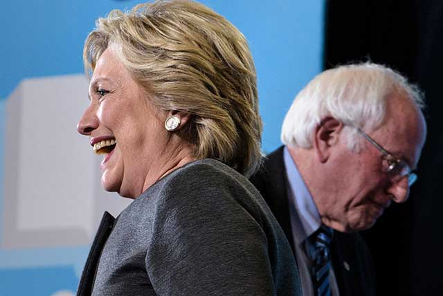 Democrats chose the candidate of the party establishment, and lost. (BRENDAN SMIALOWSKI/AFP/GETTY IMAGES)