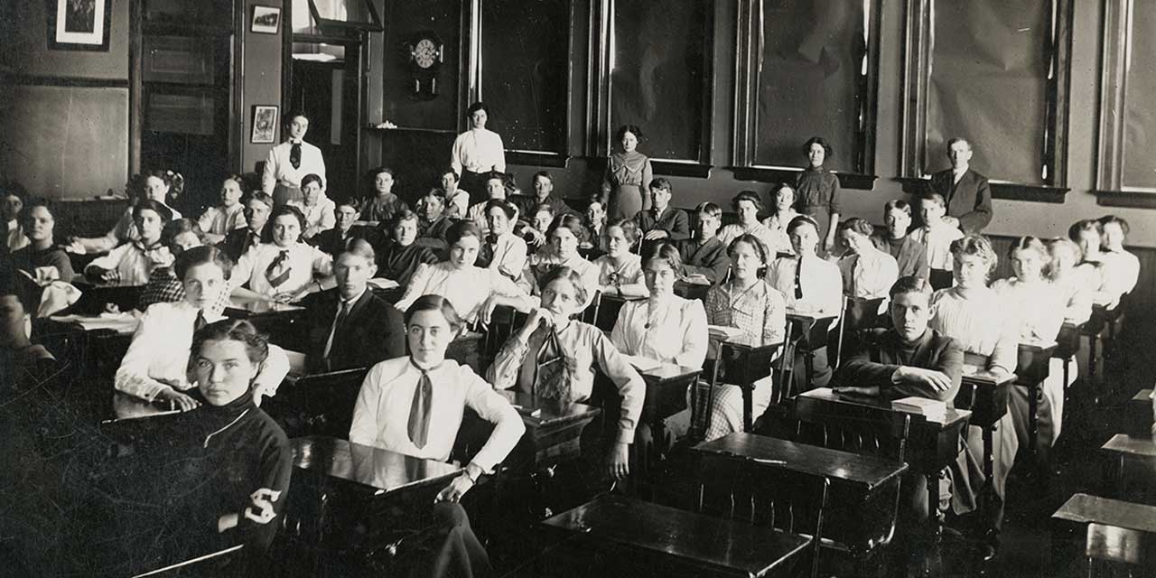 When High Schools Shaped America's Destiny: An early