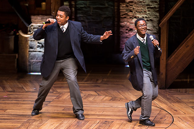 EduHam students integrate what they've learned into original songs and other creative works. (COURTESY OF THE GILDER LEHRMAN INSTITUTE OF AMERICAN HISTORY)