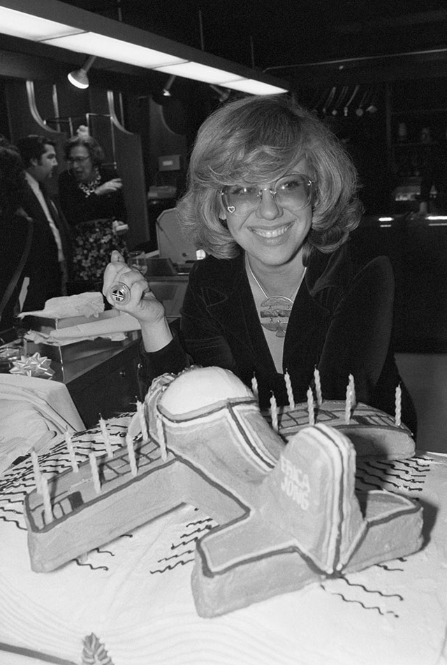 Erica Jong, one of the sexual revolution's most exuberant female acolytes (BETTMANN/GETTY IMAGES)