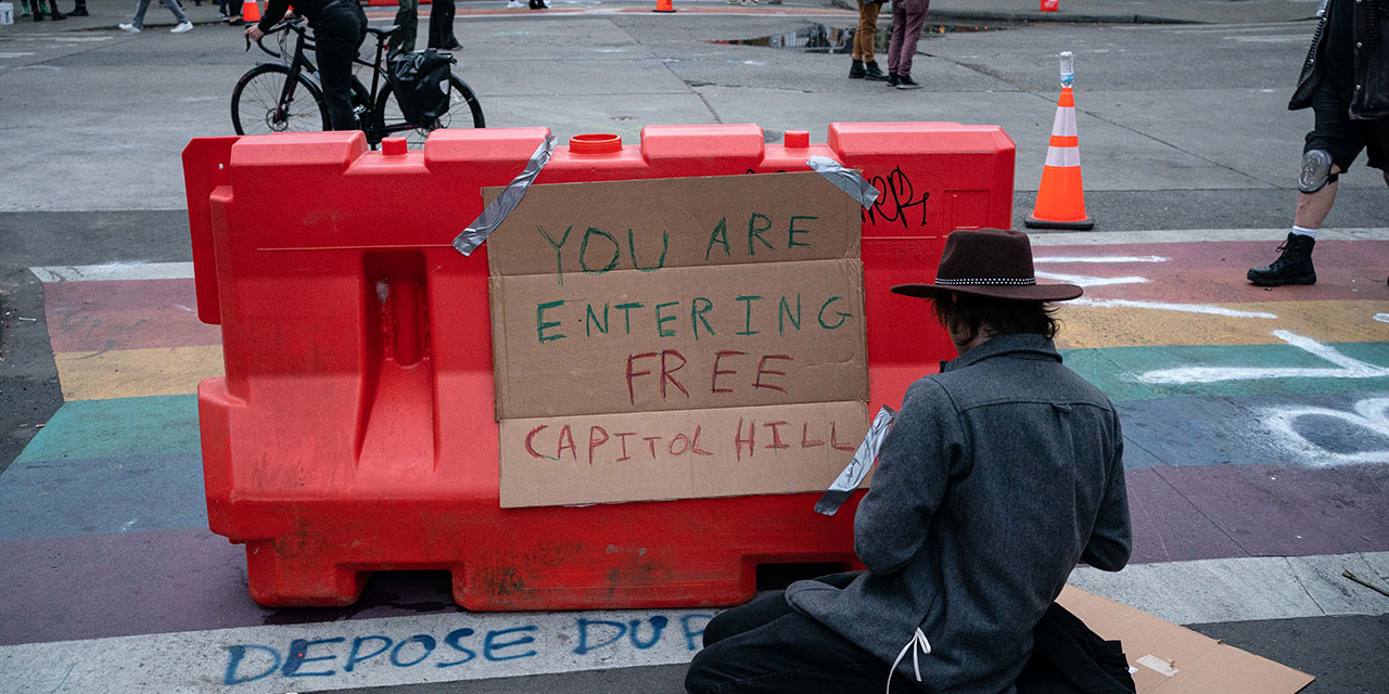Antifa Activists Claim First Territory In Seattle
