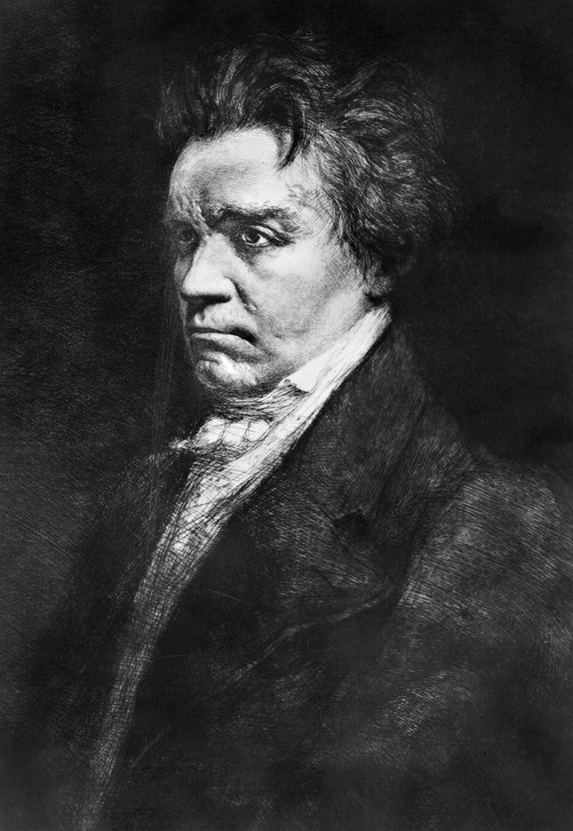 According to race activists, Beethoven's music is a symbol of white oppression. (GRANGER)