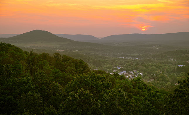 The Conyngham Valley in Greater Hazleton, PA (Joseph Pecora Photography)