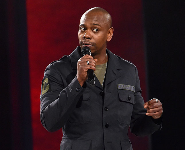 Audiences loved comedian Dave Chappelle's recent Netflix special, though censorious critics attacked it for mocking political correctness. (NETFLIX/PHOTOFEST)