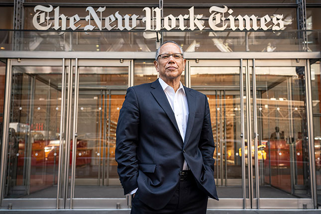 Bullied by a young and woke newsroom, New York Times executive editor Dean Baquet pressured a veteran journalist to resign. (NATAN DVIR/POLARIS/NEWSCOM)