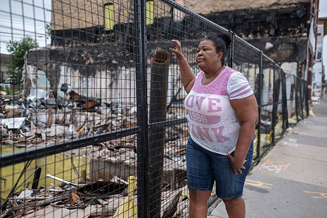 Victims of the May violence and looting in Minneapolis include Flora Westbrooks, who lost her hair salon business (DAVID PIERINI/NORTH NEWS)