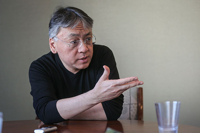 Novelist Kazuo Ishiguro (DAVID COOPER/TORONTO STAR/GETTY IMAGES)