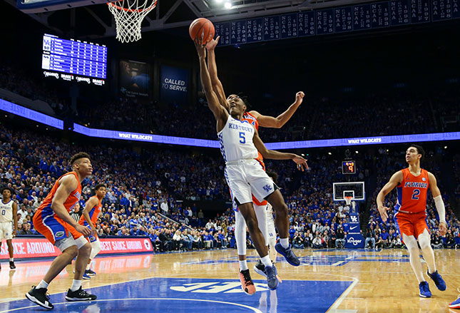 The Kentucky Wildcats, the winningest program in college basketball history (SILAS WALKER/GETTY IMAGES)
