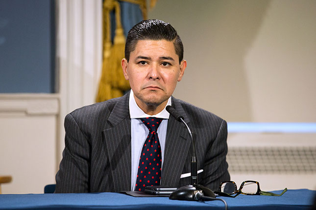 New York City Schools Chancellor Richard Carranza (Photo by William Farrington-Pool/Getty Images)