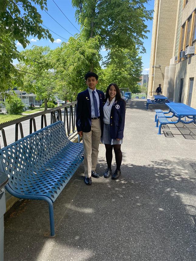 Students of Saint Mary's (photo courtesy of author)