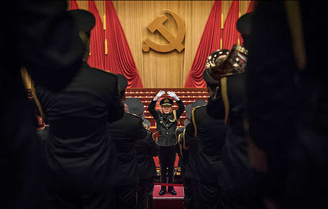 The Communist Party Congress (Photo by Kevin Frayer/Getty Images)