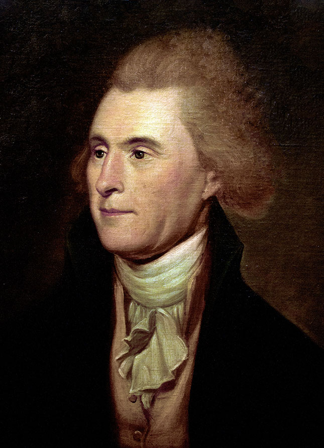 """Does Gorsuch still endorse Jeffersonian constitutional originalism? """"Instead of trying what meaning may be squeezed out of the text, or invented against it,"""" Jefferson urged, we should """"conform to the probable one in which it was passed."""" (Peter Horree / Alamy Stock Photo)"""