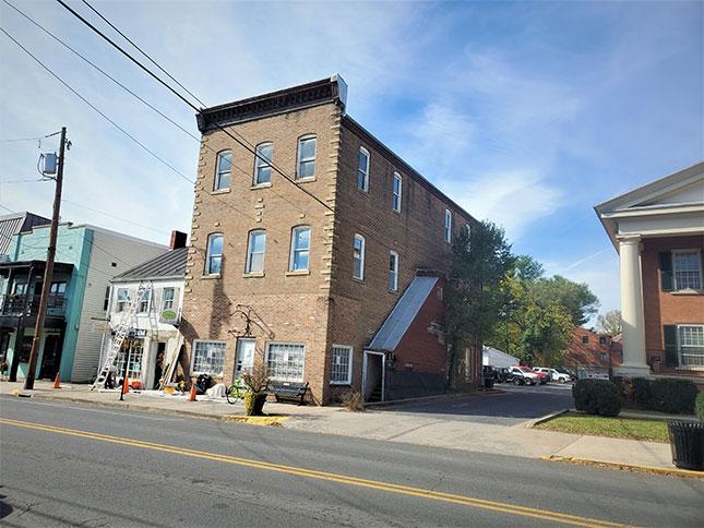 Woodstock, Virginia, sports a number of multistory buildings.