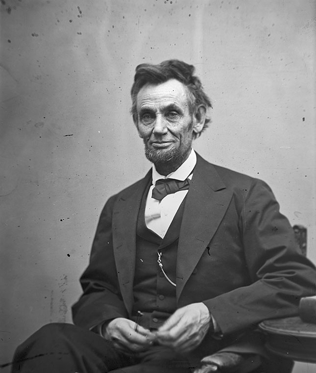 "American free enterprise, Lincoln believed, was a ""just and generous, and prosperous system, which opens the way for all."" (ALEXANDER GARDNER/U.S. LIBRARY OF CONGRESS/GETTY IMAGES)"