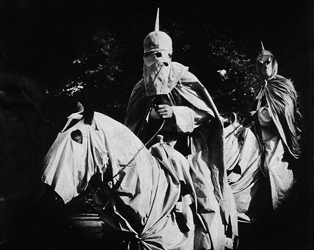 "A still from ""The Birth of a Nation,"" D. W. Griffith's 1915 film, which was screened at the White House (Photo by Hulton Archive/Getty Images)"