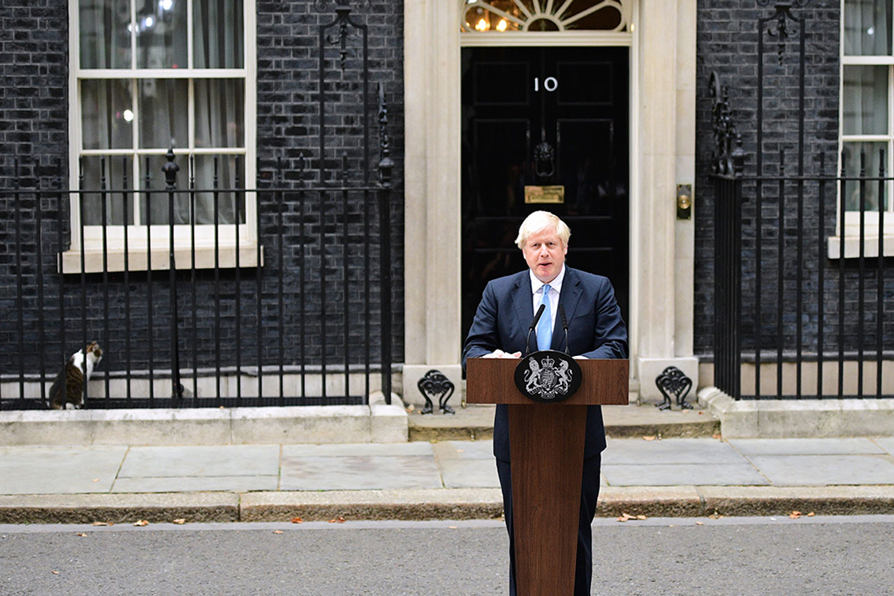 Boris Johnson's Big Bet