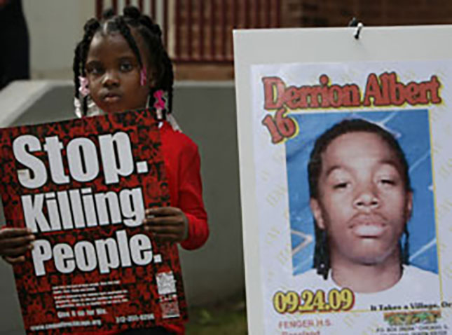 The beating death of Derrion Albert captured national attention last September. (AP PHOTO/NAM Y. HUH)