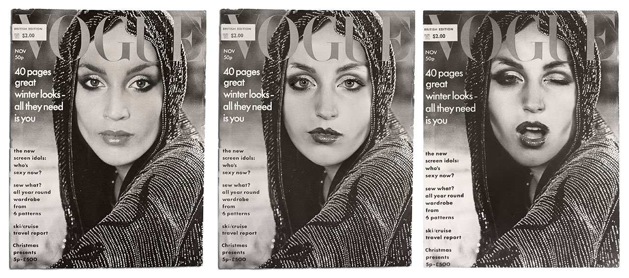Cover Girl (Vogue) by Cindy Sherman, 1976 / 2011. Courtesy of the artist and Metro Pictures, New York