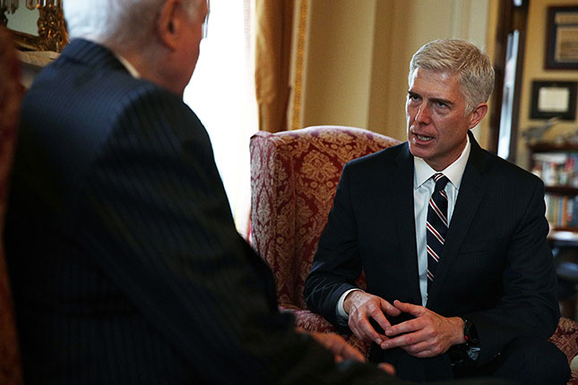 Justice Neil Gorsuch (ALEX WONG/GETTY IMAGES)