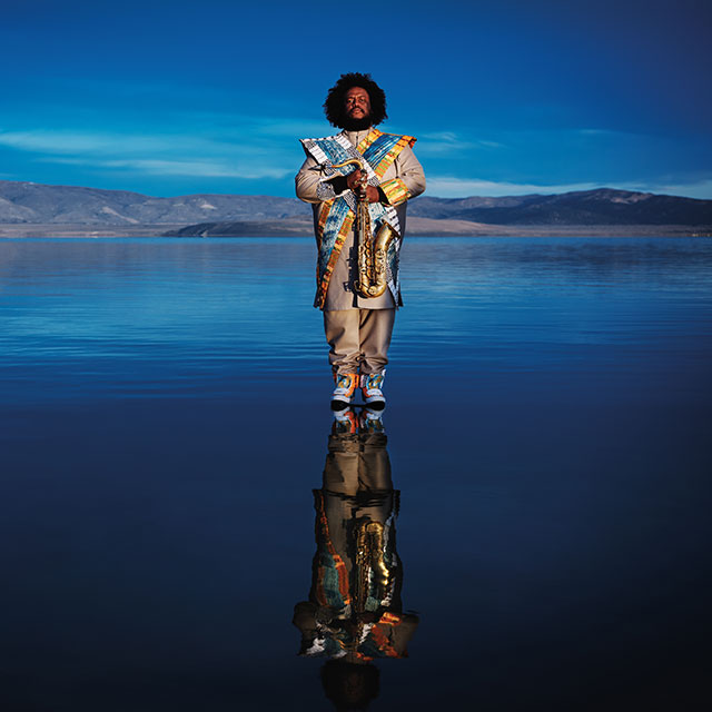 Jazz's latest West Coast resurgence is led by Kamasi Washington, part of a cadre of Southern California musicians promoting a dialogue with popular styles and commercial genres. (PHOTO BY B+ AND MIKE PARK, COURTESY OF YOUNG TURKS/BEGGARS GROUP)