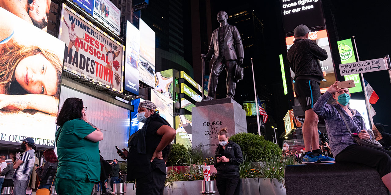 NY's Public Spaces Perform New Role During Covid-19 Crisis