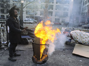 Tompkins Square Park, once overrun by drug addicts and the homeless, is now a family-friendly haven anchoring the East Village. (LES STONE/SYGMA/CORBIS)