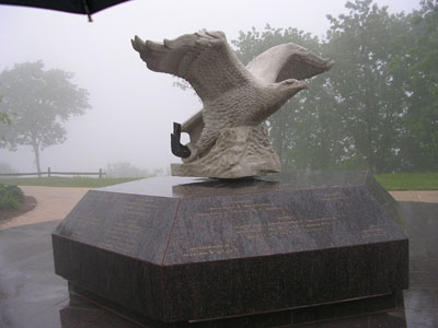 Franco Minervini's sculpture in Monmouth County, New Jersey