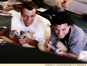 About half of American males aged 18 to 34 play video games--and do so for over two hours a day.