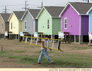 Habitat for Humanity's Musicians' Village, a brand-new neighborhood in the Upper Ninth Ward.
