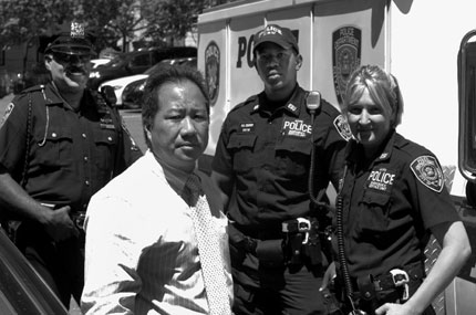 With limited resources, Mount Vernon police commissioner David Chong reduced violent crime by nearly 20 percent in 2007.