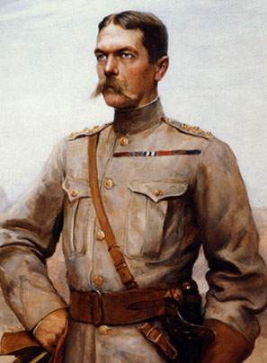 Earl Kitchener (1850-1916), exemplar of a lost stoicism.