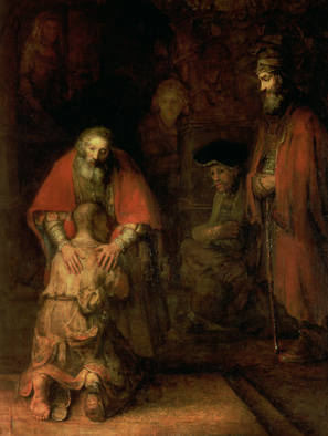 Forgiveness: Rembrandt's Return of the Prodigal Son (c. 1668-69)