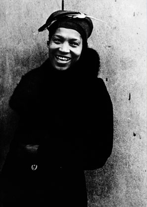 A youthful Hurston, captured in an iconic photograph by Carl Van Vechten